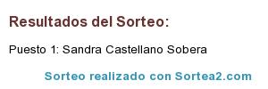 sandra-castellano Sorteo Día de la Madre 2018